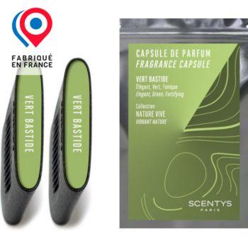 Scentys Vert Bastide - Lot de 2 capsules