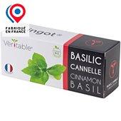 Recharge jardin intérieur Veritable Basilic Cannelle BIO