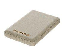 Batterie externe Xmoove  avec coque en fibre de blé - 5000mAh