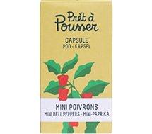 Recharge jardin d'intérieur Pret A Pousser  MINI-POIVRONS