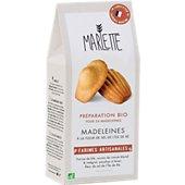 Préparation pour gâteau Marlette Bio pour Madeleines a la fleur de s