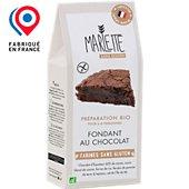 Préparation pour gâteau Marlette Bio pour Fondant au chocolat Sans G
