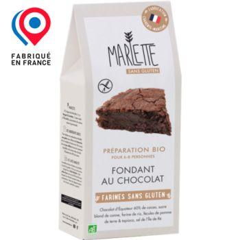 Marlette Bio pour Fondant au chocolat Sans G
