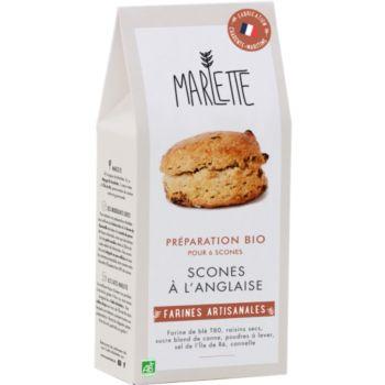 Marlette Bio pour Scones a l anglaise