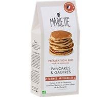 Préparation pour pancakes Marlette  Bio pour Pancakes et Gaufres