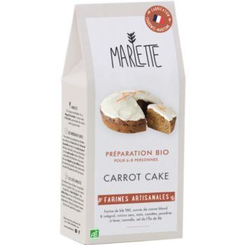 Marlette Bio pour Carrot Cake