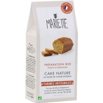 Marlette Bio pour Cake Nature au Sucre de Ra