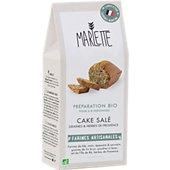 Préparation pour gâteau Marlette Bio pour Cake Sales Aux Graines et