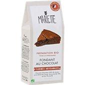 Préparation pour gâteau Marlette Bio pour Fondant au chocolat