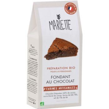 Marlette Bio pour Fondant au chocolat