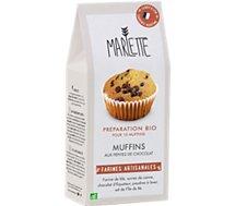 Préparation pour gâteau Marlette  Bio pour Muffins aux Pepites de Cho