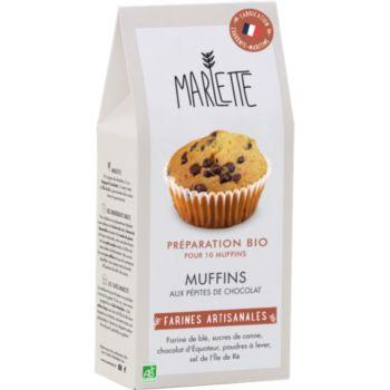 Marlette Bio pour Muffins aux Pepites de Cho