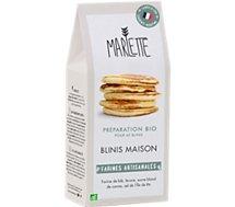 Préparation pour gâteau Marlette  Bio pour Blinis maison