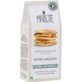 Marlette Bio pour Blinis maison
