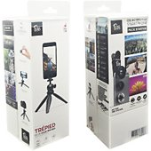 Objectif smartphone Pixter 3 objectifs Smartphone + Trepied rigide