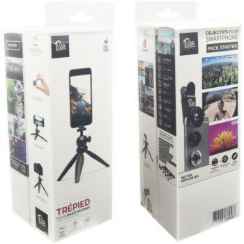 Pixter 3 objectifs Smartphone + Trepied rigide