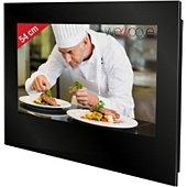 TV LED Wemoove TV cuisine 21,5'' étanche avec ferrures