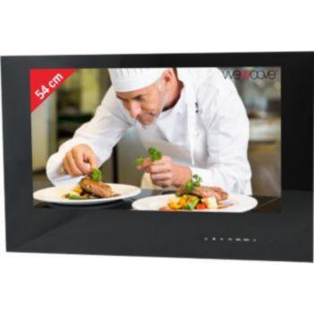 Wemoove TV cuisine 21,5'' compact étanche noir