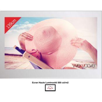 Wemoove TV miroir 55'' étanche avec encastrement
