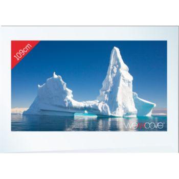 Wemoove TV 43'' étanche cadre blanc ICEBERG