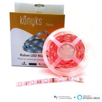 Konyks Dallas Ruban LED RGB Wi-Fi 3M