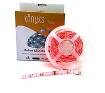 Bandeau LED Konyks  Dallas Ruban LED RGB Wi-Fi 3M