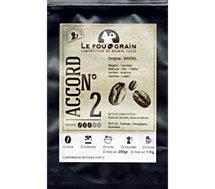 Café en grain Le Fou Du Grain  BRESIL