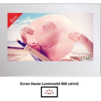 Wemoove TV miroir 32'' étanche avec encastrement