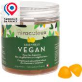 Complément alimentaire Les Miraculeux Gummies Vegan Vegetarien Vegetalien
