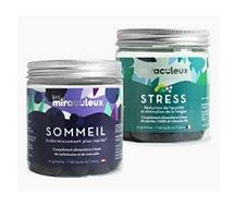 Complément alimentaire Les Miraculeux  Gummies Zen 2 boites sommeil et stress