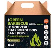 Charbon de bois Greenbbq  écologique noyaux d'olives 4kg