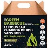 Charbon de bois Greenbbq Charbon écologique coques noisettes 4kg
