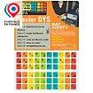 Sticker clavier R2dtooldys Dyslexique Mac