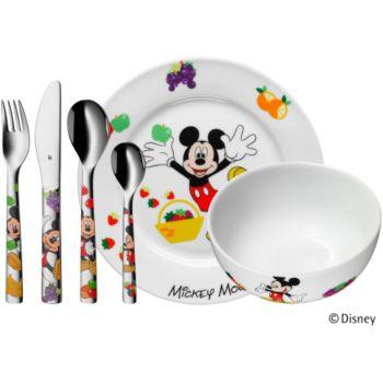 WMF MICKEY MOUSE enfants set 6 pieces