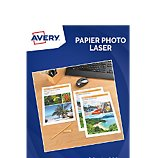Papier photo Avery 50 Feuilles papier photo brillant laser