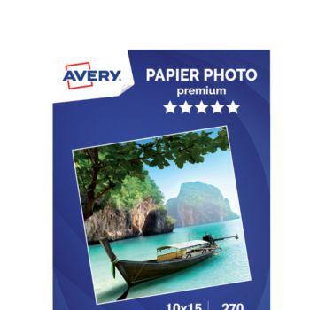 Avery 40 Photos brillantes 10x15 270g