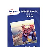 Papier photo Avery  80 Photos brillantes 10x15 180g