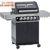 Barbecue gaz Rosle Station VIDERO G3-S 30mbar noir