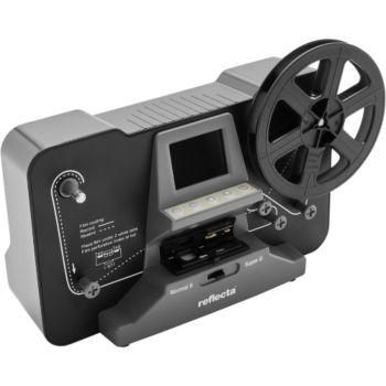 Reflecta Film Scanner- Super 8 Normal 8 Black