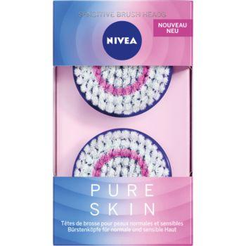 Nivea Pure Skin Kit Peaux sensibles X2