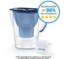 Carafe filtrante Brita  Marella bleu + 1 cartouche Maxtra+
