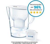 Carafe filtrante Brita Marella XL blanc + 1 cartouche Maxtra+