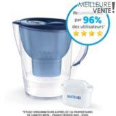 Carafe filtrante Brita MARELLA XL bleu + 1 cartouche Maxtra+