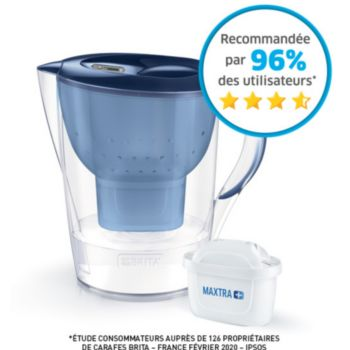Brita MARELLA XL bleu + 1 cartouche Maxtra+
