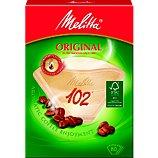 Filtre à café Melitta 80 filtres brun 102 - 8-10 tasses