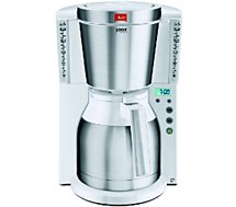Cafetière isotherme Melitta LOOK IV THERM TIMER BLANC/INOX