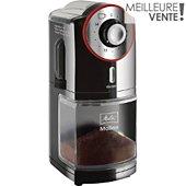 Moulin à café Melitta MOLINO NOIR ET ROUGE INOX