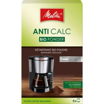 Melitta Bio poudre pour cafetiere filtre 6x20g