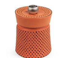 Moulin à poivre ou sel Peugeot  a poivre BALI fonte orange 8 cm