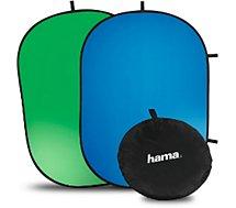 Pack Streamer Hama  Fond pliable Chairy vert 130 cm
